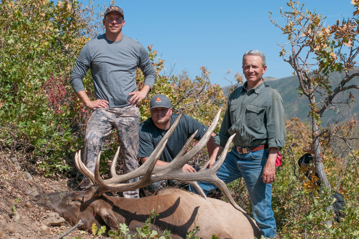 A Wasatch Bull Worth 18 Years (Video Footage)